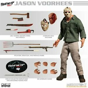 Vendredi 13e partie 3 Jason Voorhees Un: 12 figurines en action collective 696198771602