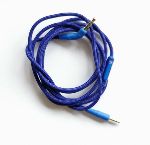 Audio Cable Wire Inline Remote Mic Aux Cord For Jbl