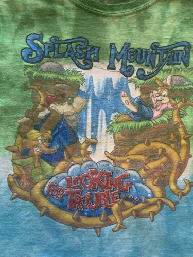 Disney Splash Mountain T-Shirt discontinued FREE S