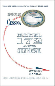 Cessna-Skyhawk-Airplane-Information-Owner-039-s-Manual-POH-172F-1965