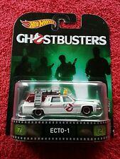 "Hot Wheels 2017 Retro Entertainment Series ""Ghostbusters ECTO-1"" ~ NIP!"