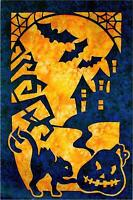 Halloween 2 Fabric Applique Pacific Rim Quilt Pattern