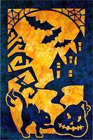 Halloween 2 Fabric Applique Pacific Rim Quilt Pattern