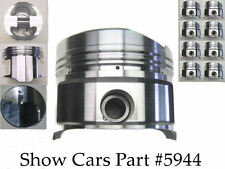 409 CHEVY CHEVROLET IMPALA BEL AIR FORGED ROSS 4.342 +030 OVER BORE 10.5 PISTONS