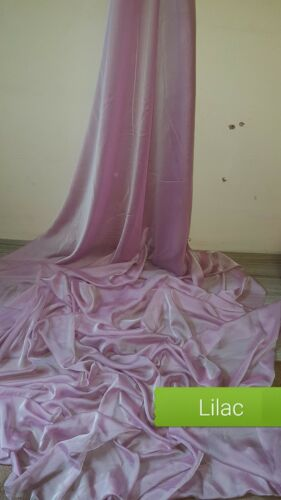 1METERS LILAC DRESS CHIFFON FABRIC 58WIDE