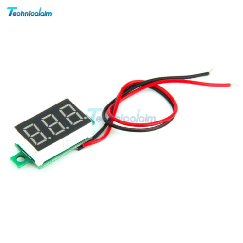 DC100V 10A Voltmeter Ammeter Blue+Red LED Amp Dual Digital Red LED Voltage Meter