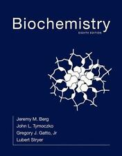 Biochemistry by Jeremy M. Berg Hardcover Book (English)