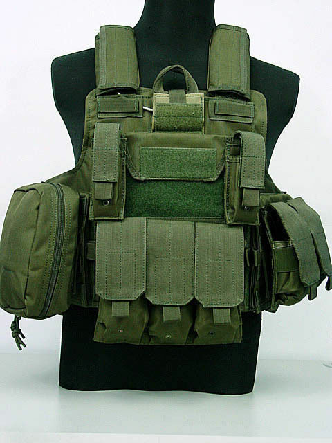 Tactical Molle Combat Carrier Nylon CIRAS HEAVY DUTY  ARMOR Vest Green  clients first reputation first
