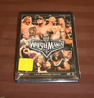 Wwe Wrestlemania Xxii (dvd, 2006, 3-disc Set) Brand Wrestlemania 22