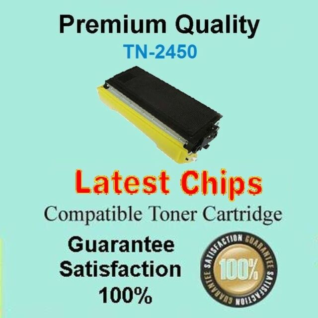 1x TN2450 TN-2450 WITH CHIP Toner Compatible for Brother HL L2350DW MFC L2710DW