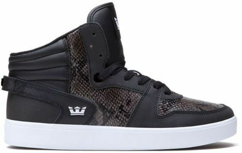 SP80012 - Men's Supra Sphinx Black/White New In Box Sizes 8-12