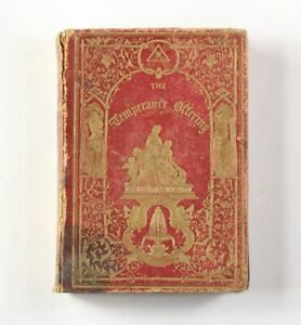 The-Sons-of-Temperance-Offering-c-1851-Antique-Book-Edited-by-T-S-Arthur