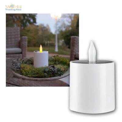 Verantwortlich Solar Kerze Für Innen & Außen Led Elektrisch Flackernd Mi Lichtsensor Kunststoff Wir Nehmen Kunden Als Unsere GöTter