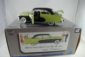 1-18-Precision-Miniatures-PMUS-02G-1950-Ford-Crestliner-Sportivo-Verde