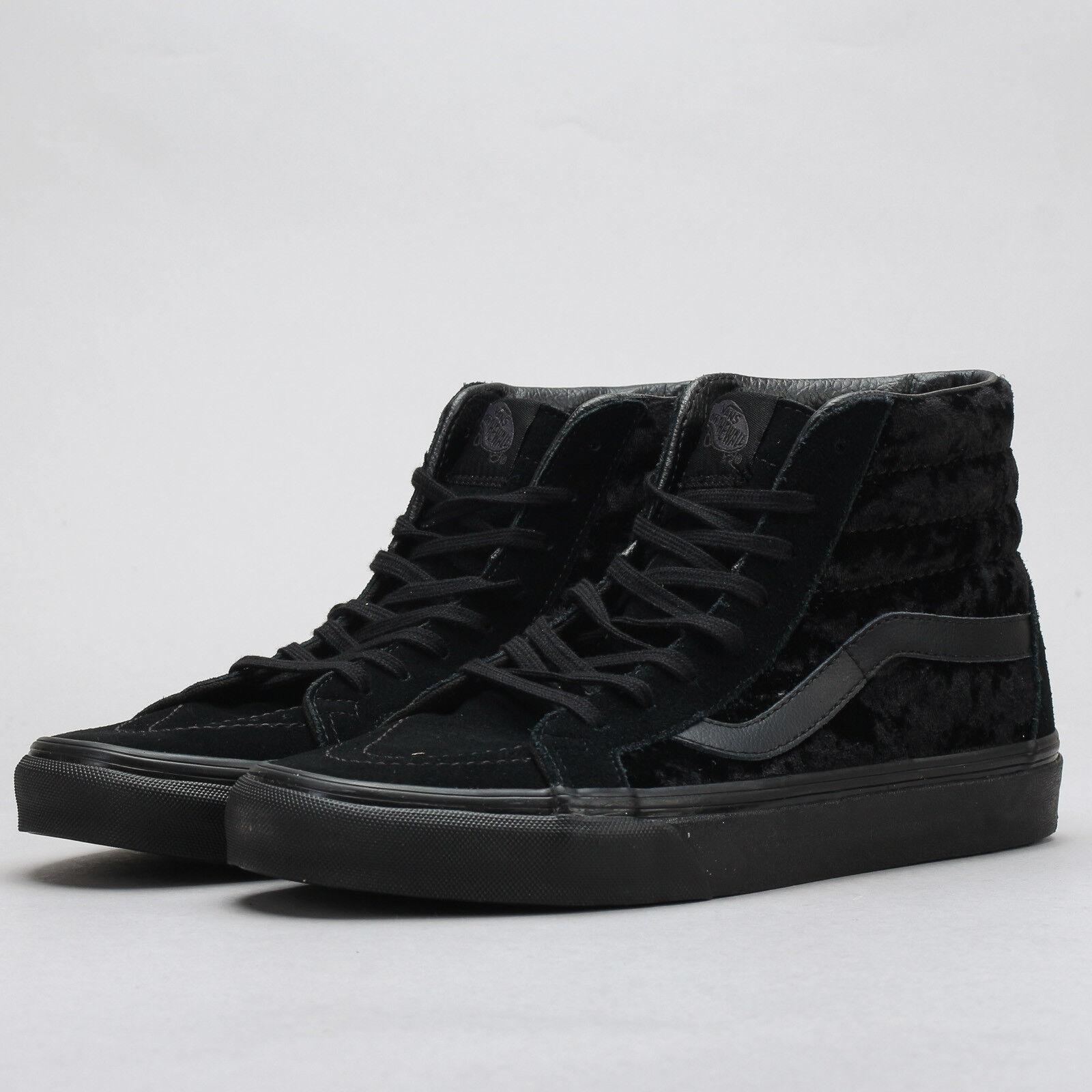 Vans SK8 - Hi Reissue (velvet) black / black EU 42, Frauen, Schwarz, VA2XSBNQ9