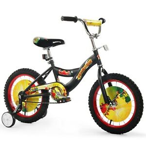 Boys 16 Bicycle Bike With Removable Training Wheels For Kids Dino Black New 23632037435 Ebay