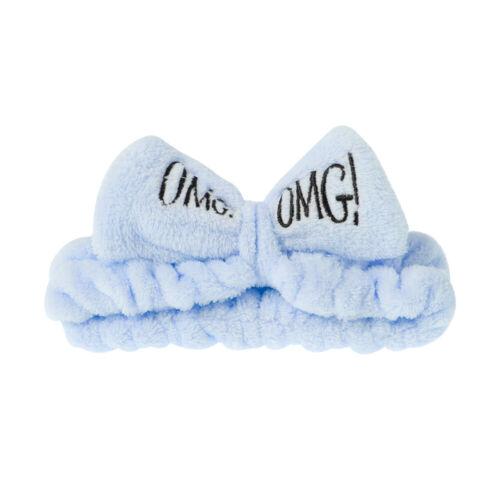 Make Up OMG Buchstaben Beauty Haarbänder Kopfband waschen Women/'s Bow Haarband✅