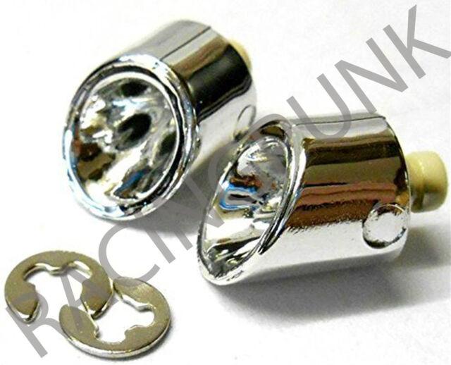 RC 1/10 Car 190mm 200mm DRIFT Body Shell Chrome EXHAUST Pipe Muffler Mufler x 2