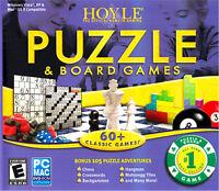 Hoyle Puzzle & Board Games 2008 Pc Mac Chess Crosswords Backgammon Mahjongg Tile