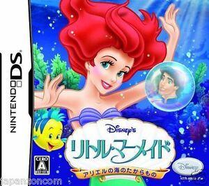 Used-DS-Disney-039-s-The-Little-Mermaid-Ariel-039-s-NINTENDO-JAPANESE-IMPORT