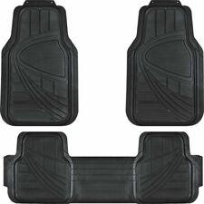 3pcs Car Floor Mats No Slip Bottom Rubber Black Floor Mats For Car Suv Truck Fits 2003 Honda Pilot