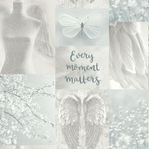 Arthouse Daydreamer gris multi papier peint 692800-paillettes papillon ailes d/'ange
