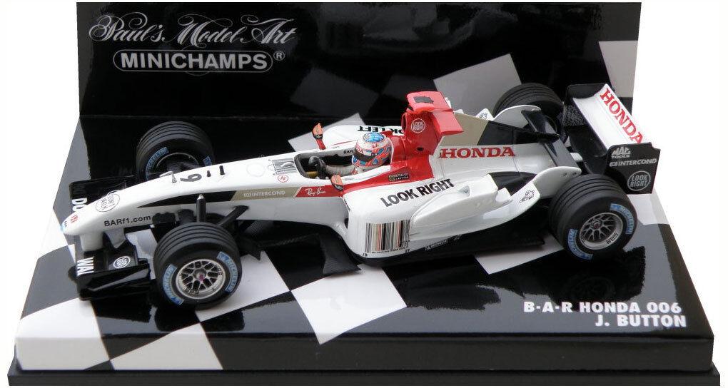Minichamps BAR Honda 006 2004 - Jenson Button 1 43 Scale