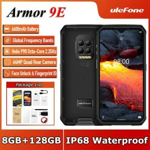 Ulefone Armor 9E Rugged Phone Helio P90 Octa Core 8GB+128GB 6600mAh 64MP Camera