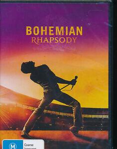 Bohemian-Rhapsody-DVD-NEW-Region-4-Queen-Freddie-Mercury-story