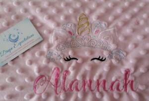 personalised dimple fleece baby blanket Marie Aristocats