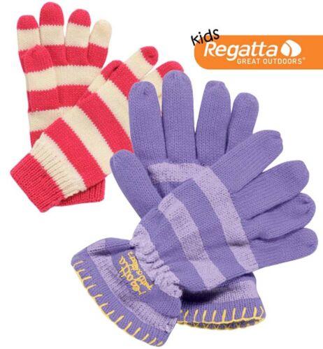 Regatta Tootie Fruit Girls Warm Winter Knitted Gloves RKG009