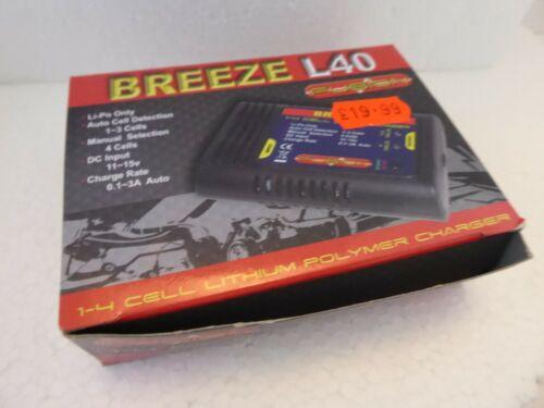 Breeze L40 Li Po caricatore da parte del Regno Unito Approvato Fusion 1-4 Cella EU aeromodellismo NR