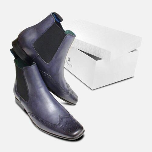bleu bottes marine Exceed Derbies chelsea Chaussures par ESwqSZ