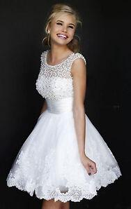 Kurz Brautjungfernkleid Abendkleid Brautkleider Cocktail-Party Kleid Ballkleider