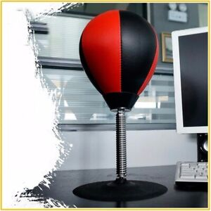 Desk Punching Bag Speed Ball Training Fitness Boxing Balls Stress Release Bags
