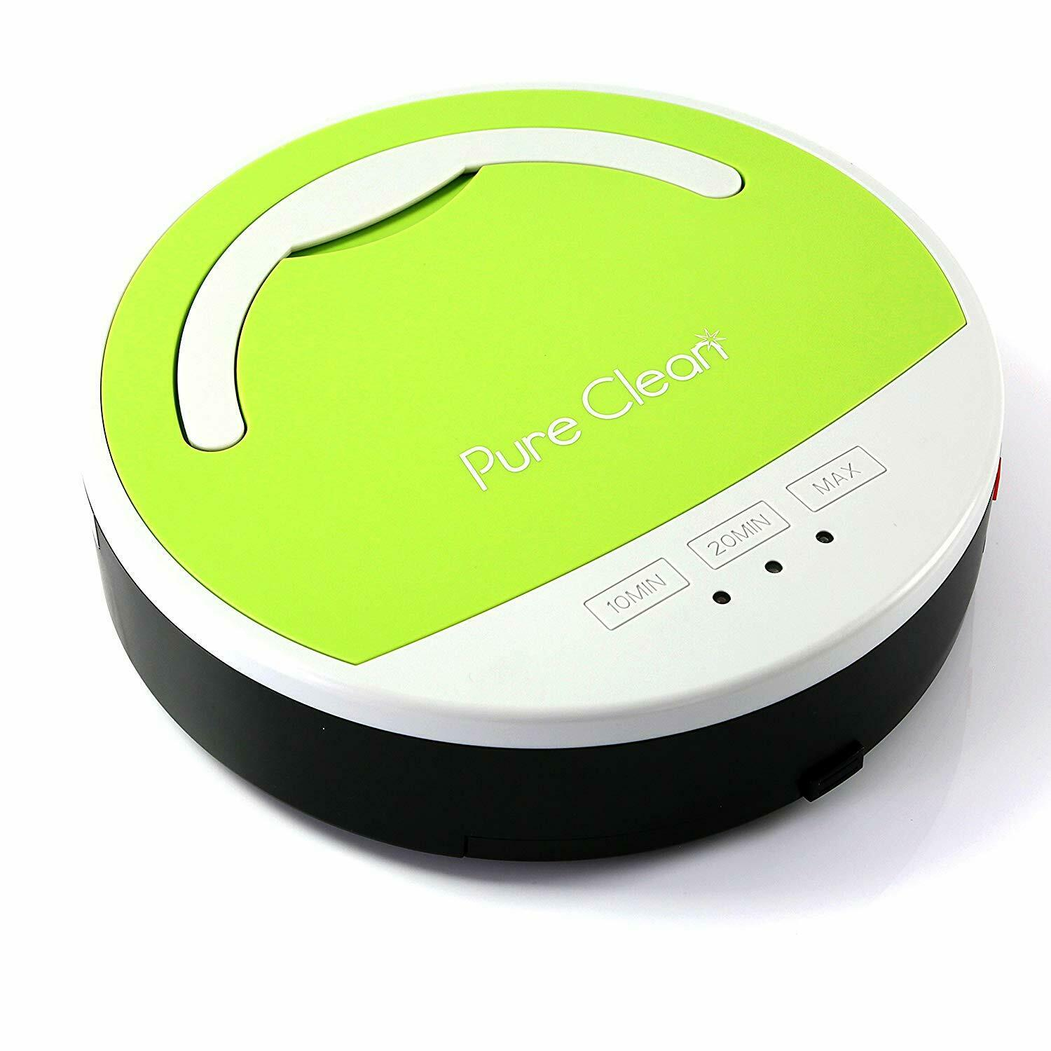 Pet Dog Hair Pure Clean Robotic Vacuum Cleaner for Tile Floors, Hardwood Floors