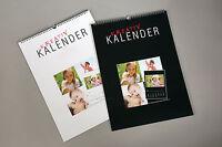3x Bastelkalender Fotokalender Kreativkalender Dauerkalender A4 Bis 18x18 Cm