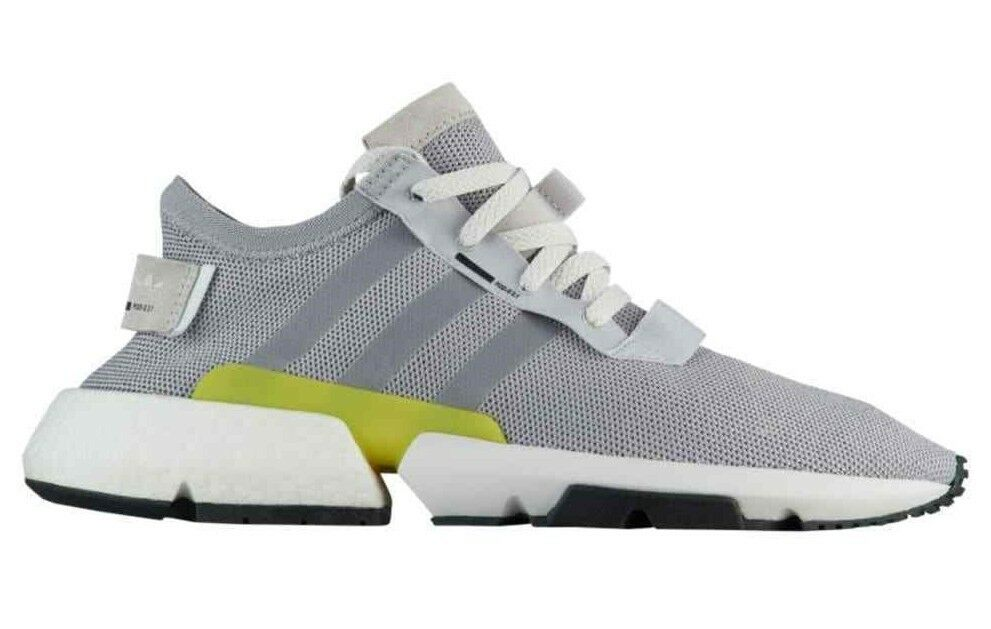 Adidas Originals Men's POD-S3.1 shoes Grey Shock Yellow B37363 c