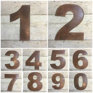 LARGE-12-034-RUSTY-METAL-HOUSE-DOOR-NUMBERS-SIGNS-PLAQUE-SIGN-RUSTIC-INDUSTRIAL