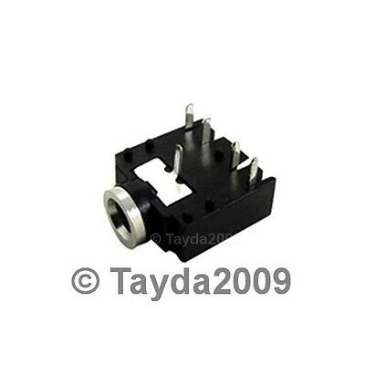 FREE SHIPPING 2 x DC Power Jack 2.1mm Enclosed Frame With Switch External