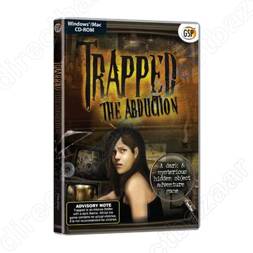 1 of 1 - Game for PC & MAC Game  Trapped The Abduction Game,  PC & MAC
