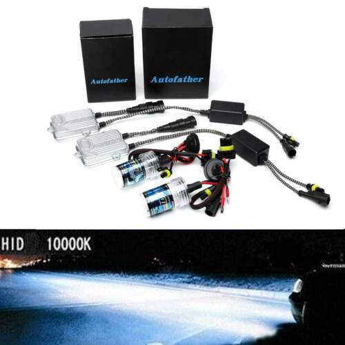 H7 55W HID Xenon Conversion Kit  All Colors Car Headlights Replace Halogen Bulb