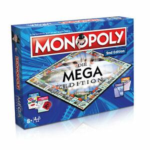 Monopoly Mega 2nd Edition Gesellschaftsspiel Brettspiel Spiel Auflage 2020