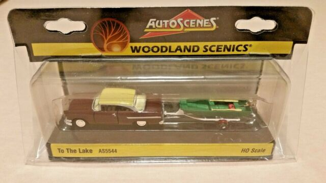 HO Scale Woodland Scenics To The Lake Auto Scene's AS5544