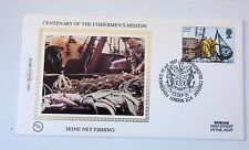GREAT BRITAIN FDC CENTENARY OF THE FISHERMEN'S MISSION