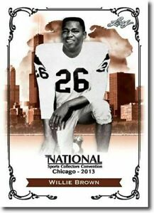 WILLIE-BROWN-2013-LEAF-NATIONAL-EXCLUSIVE-COLLECTORS-PROMO-CARD