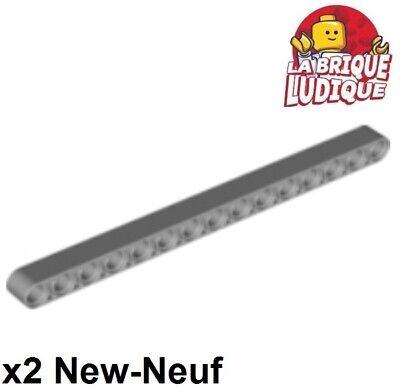 Lego Technic 4 liftarm gris clair Light Bluish Gray 3x3 T shape Neuf New 60484