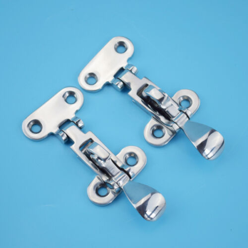 "316 Stainless Steel Locker Hatch Anti-Rattle Latch Fastener Clamp-4 3//8/"" STOCK"