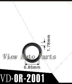 500 pcs Viton O-ring for Keihin Fuel Injector Repair Kit 6.86 x 1.78