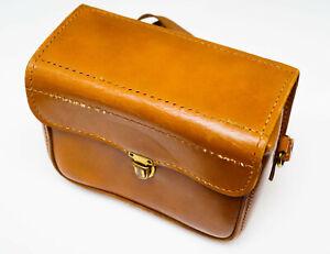Service-Kam-Ra-900-vintage-1950-039-s-camera-bag-genuine-top-grain-cowhide-leather